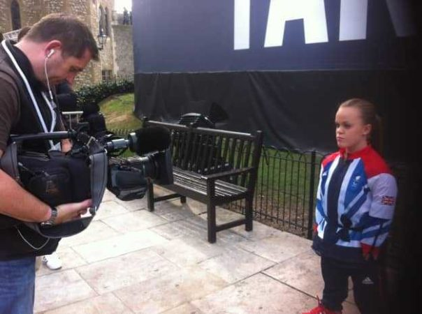 We asked Paralympian Ellie to give us her best pose for our Team GB kit launch camera