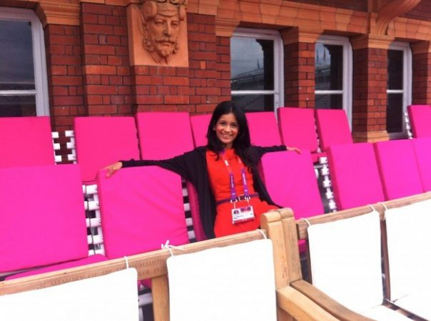 While presenting the archery action from Lord's, I took the opportunity to chill on the Pavilion terrace. This was just incase it was the only time I would be allowed such great access!