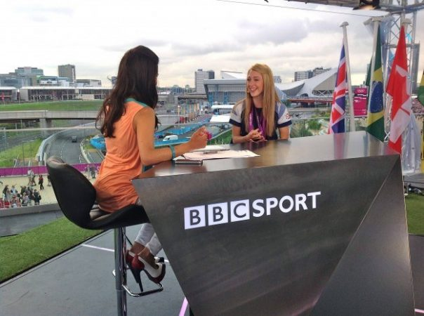 After winning two gold medals, cyclist Laura Trott came in for a long chat on BBC Three. She came across as a very funny, down-to-earth young woman.