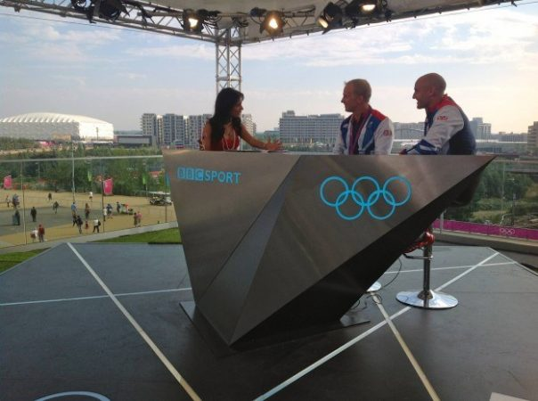 Sprint canoeists Jon Schofield and Liam Heath talked about winning bronze in the BBC Three studio.