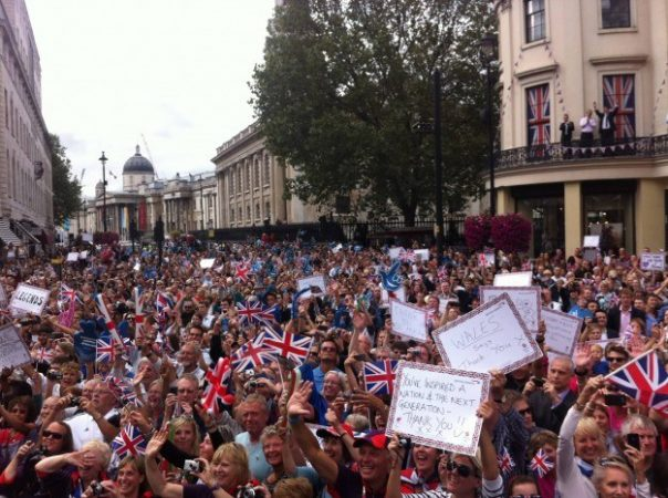 More than a million people lined the streets of London as the heroes of Team GB and Paralympic GB paraded through the capital