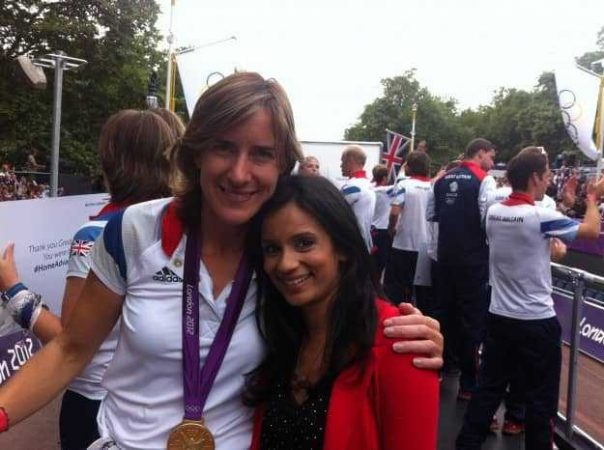 This was the first time I met Olympic champion rower Kath Grainger - a very exciting moment for me!