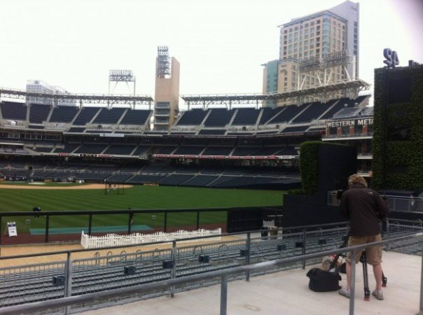 Petco Park is home to the city's Major League Baseball team, the San Diego Padres