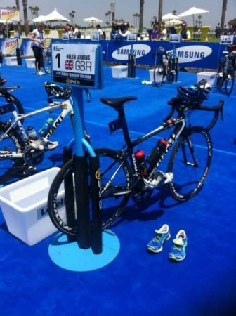 This is world champion Helen Jenkins' station in the San Diego transition zone.