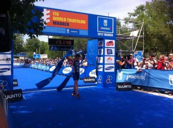 Jonny Brownlee won by a 38-second margin in Madrid