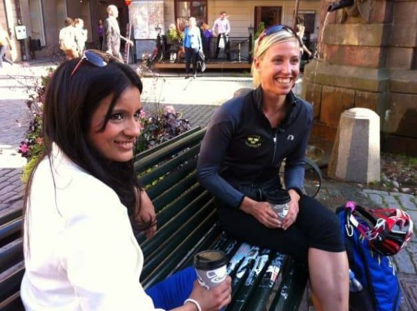 We chatted to Swedish triathlete Lisa Norden about racing on home soil over coffee in Gamla Stan