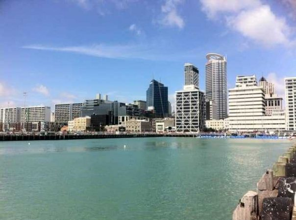 Auckland's swim start was at Queen's Wharf
