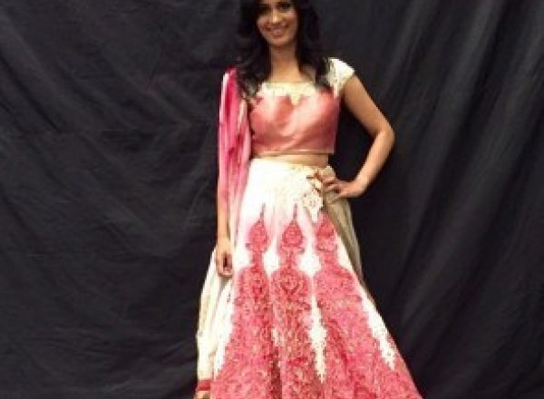 On the catwalk for the British Asian Trust